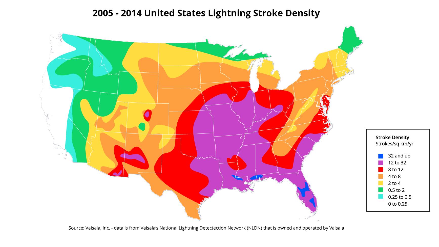 HorseDVM Health AZ Lightning Strikes - Lightning strike map